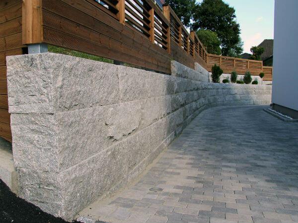 d17bf2914 Støttemur, 40x40, granitt - Anlex AS - anleggsgartner i Oslo og Akershus